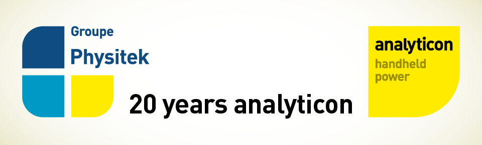 20 years of analyticon - now part of Groupe Physitek